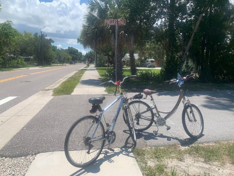 Dunedin Bike Trails Pinellas Trail